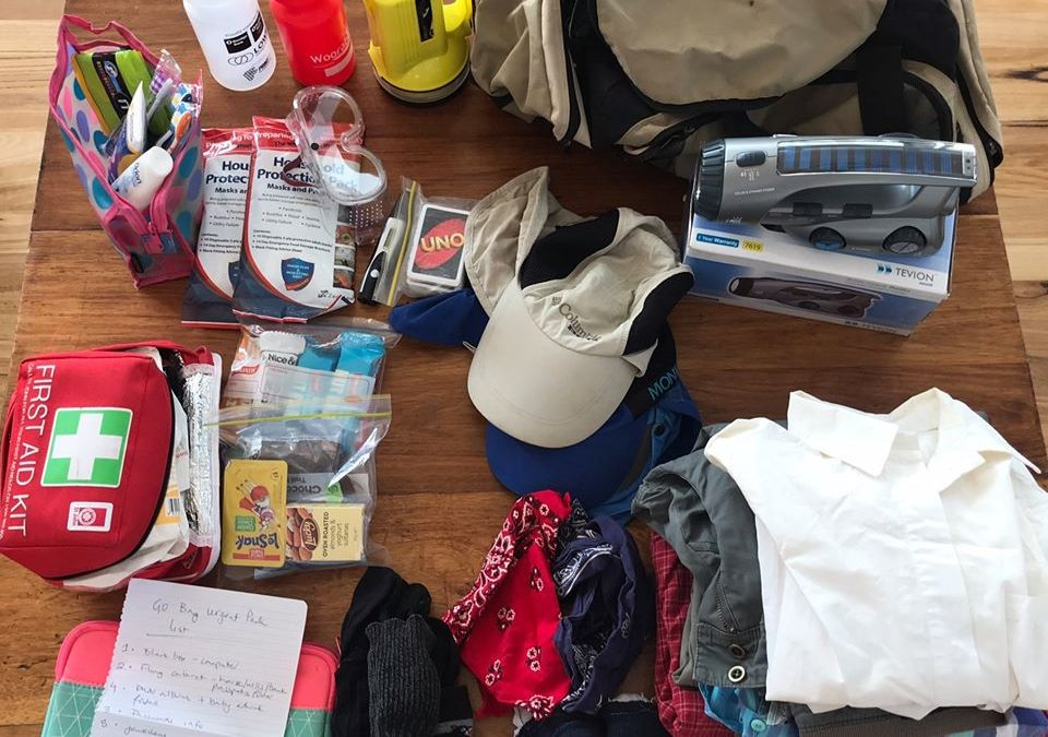 What's in your Go Bag this fire season?