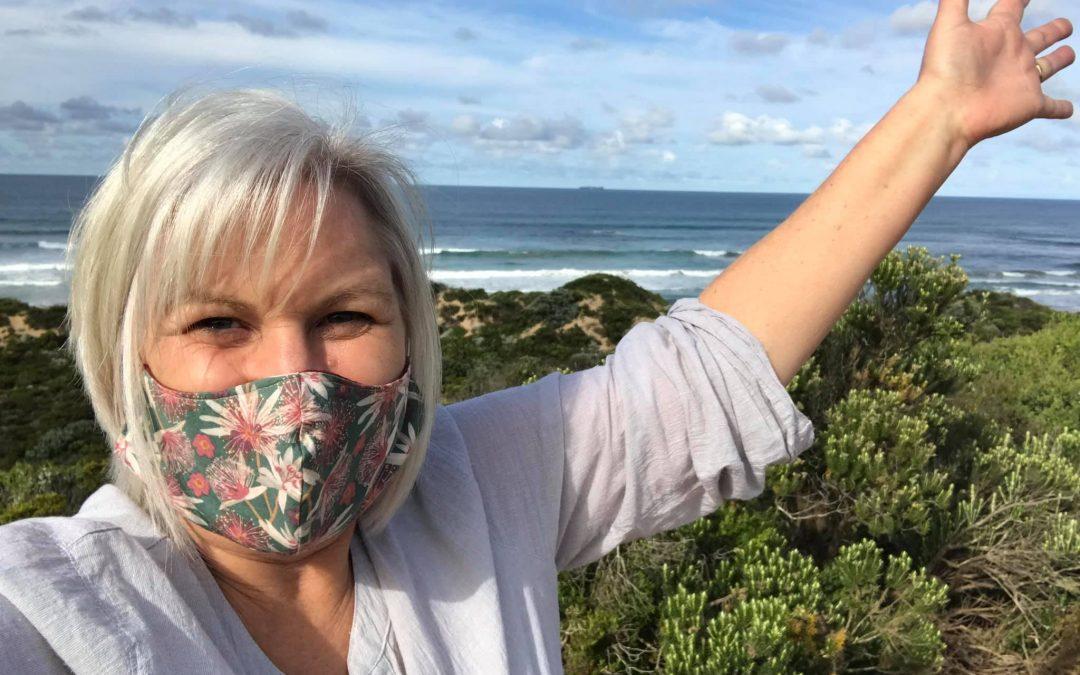 Mask care form the masked copywriter